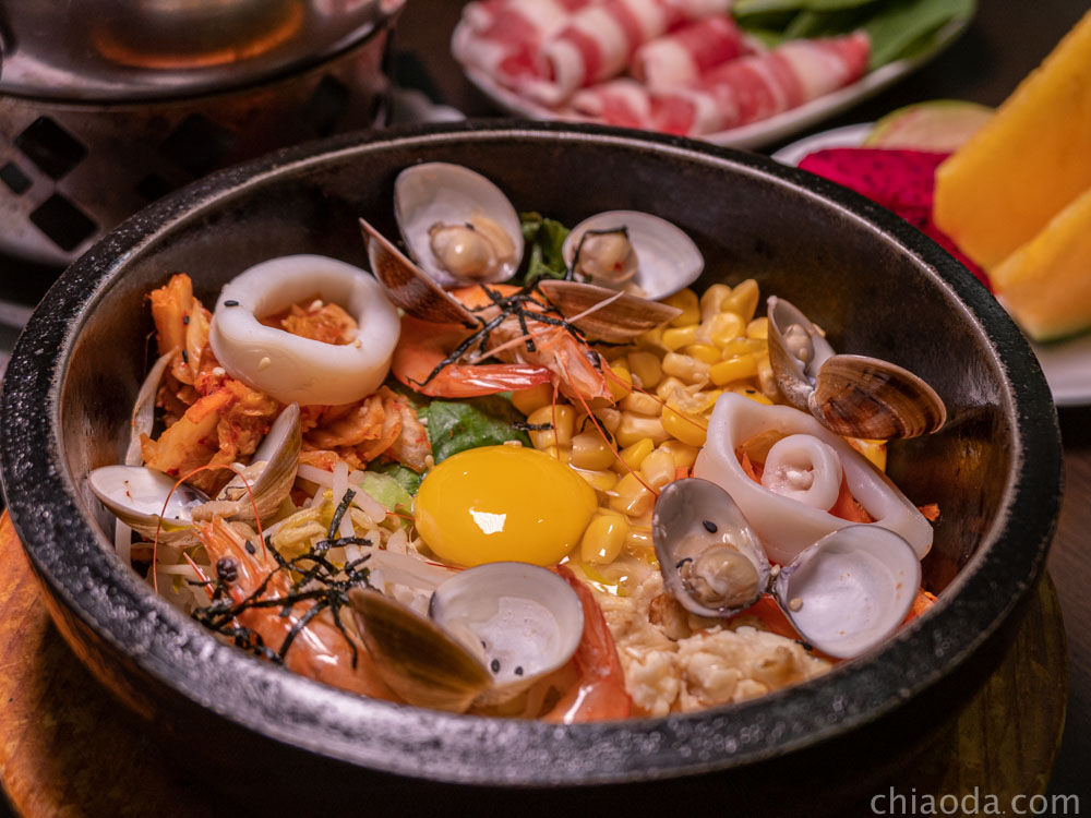 九食圓 檸檬香茅海鮮嗶嗶飯
