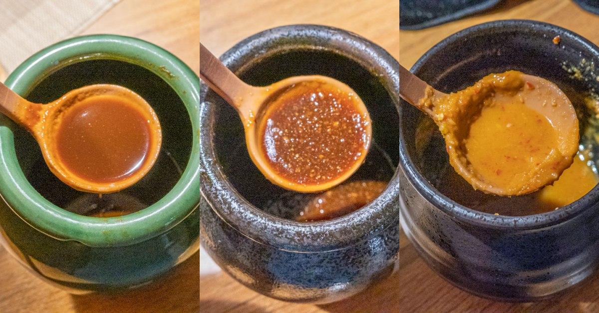 拿手串日式串燒居酒屋 沾醬