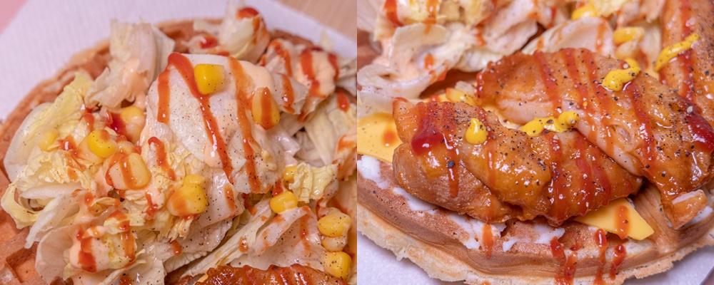 FUN輕鬆 鬆餅店-雞腿排總匯