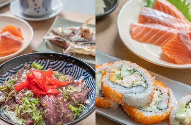 楓上屋|崇德路文心路口週邊日式料理 師傅遠赴日本學手藝 餐點精緻美味