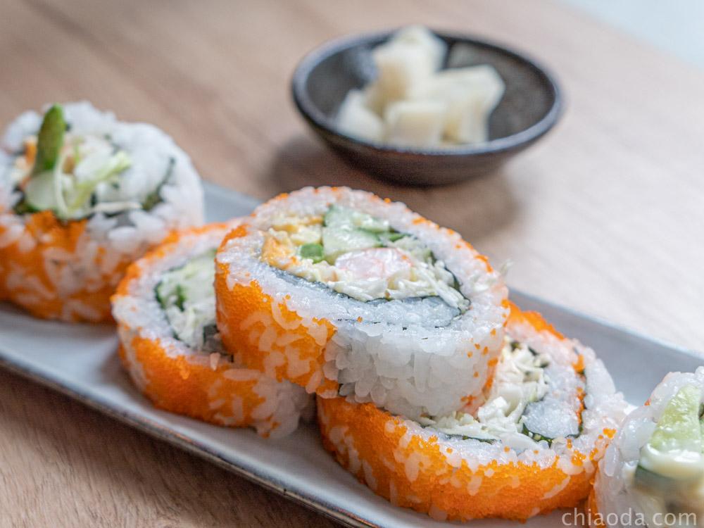 楓上屋-鮮蝦花壽司