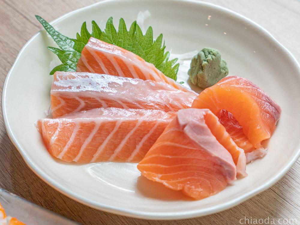 楓上屋 鮭魚生魚片