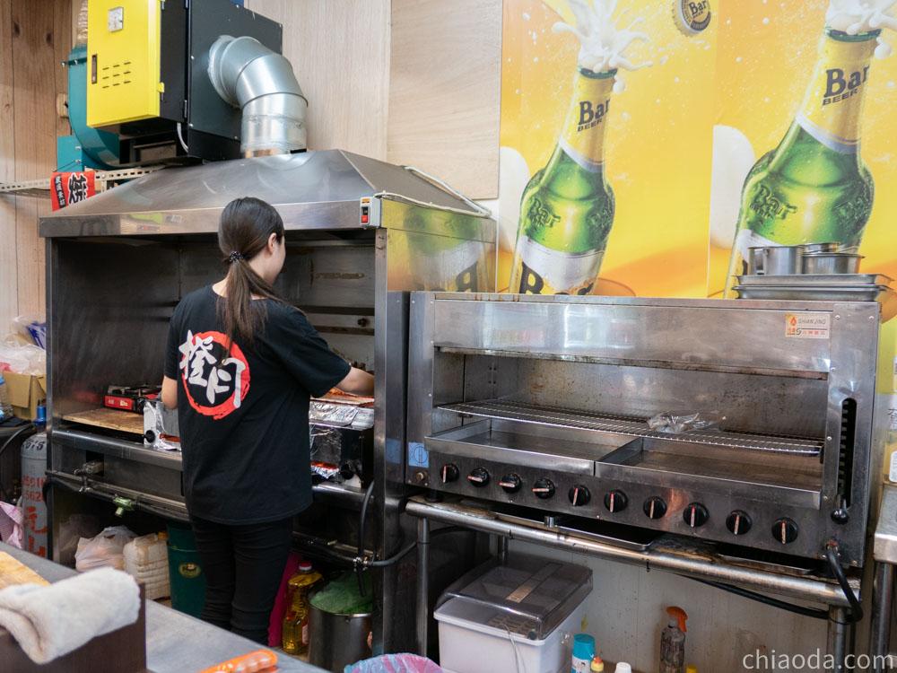 橙月燒烤北屯店 開放式廚房