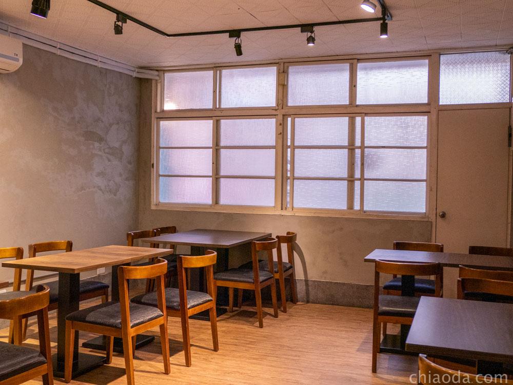 稻麥食堂 二樓視用餐情況開放