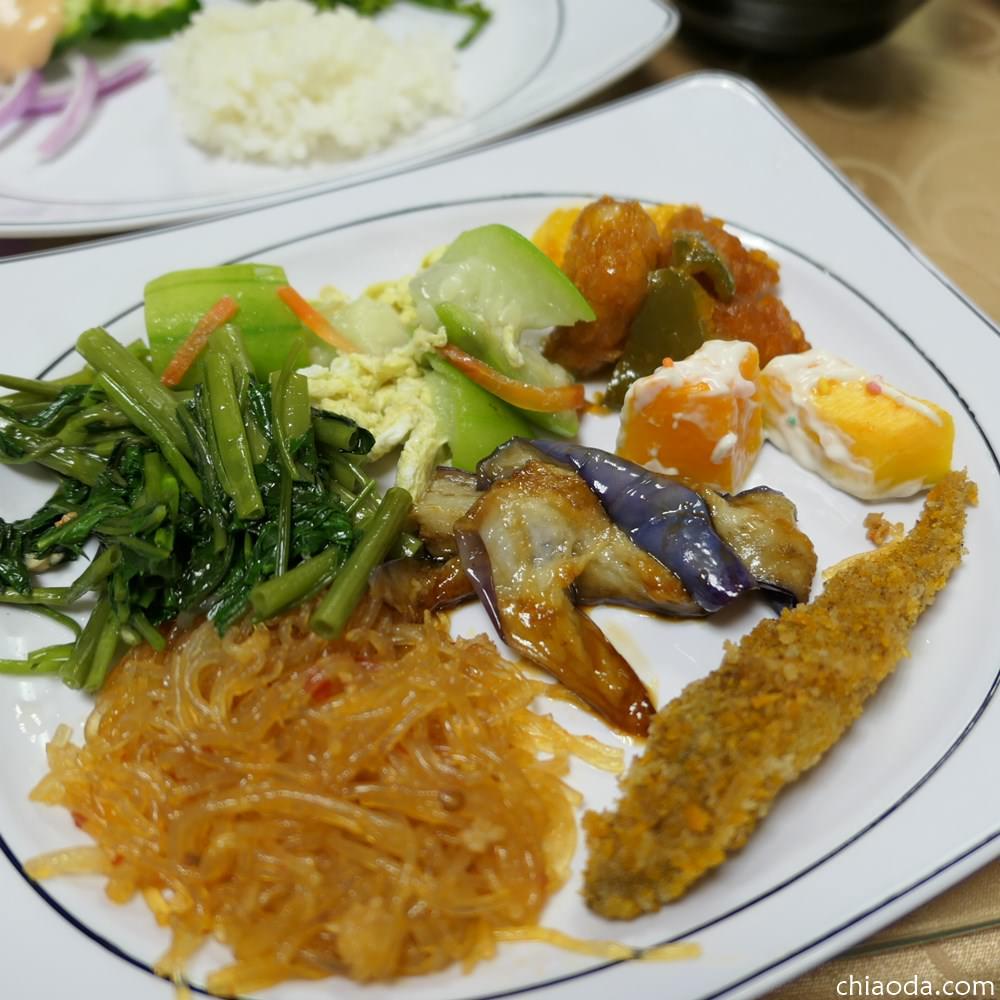 天祥青年活動中心|太魯閣午晚餐推薦  簡易台式自助晚餐 價格、餐點內容大公開
