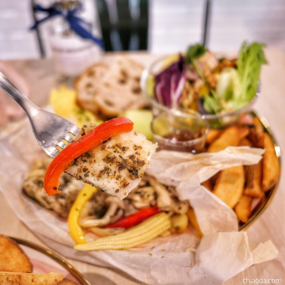 花鹿迷早午餐 義式香草鱸魚