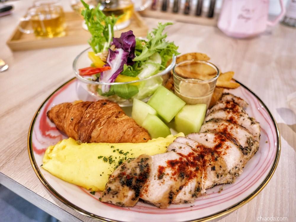 花鹿迷早午餐 義式香草雞胸肉