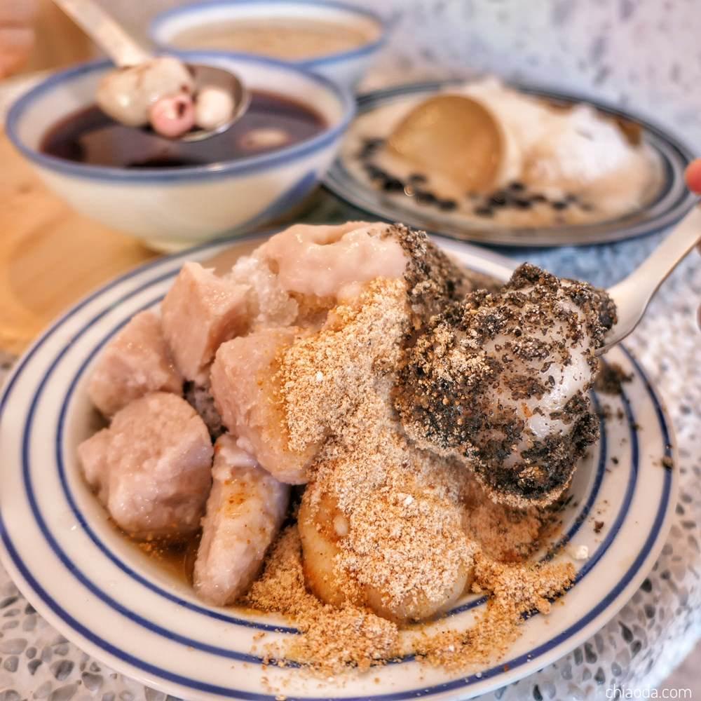甜弄|豐原廟冰品甜湯店 復古燒麻糬冰超好吃!