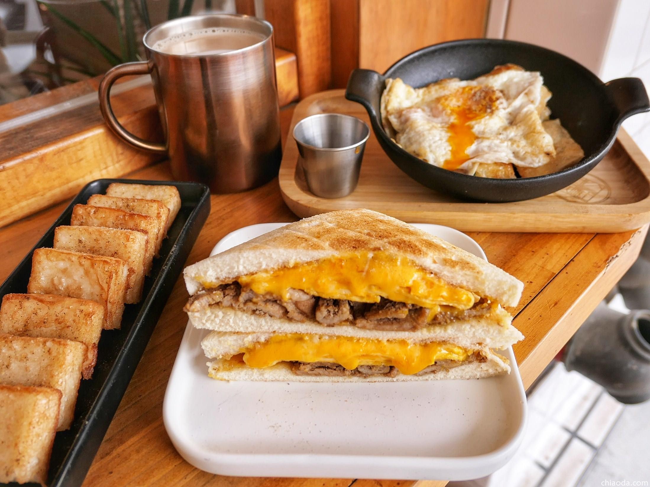 土木公社大墩店 在工業風質感環境享用美味好吃的平價早餐