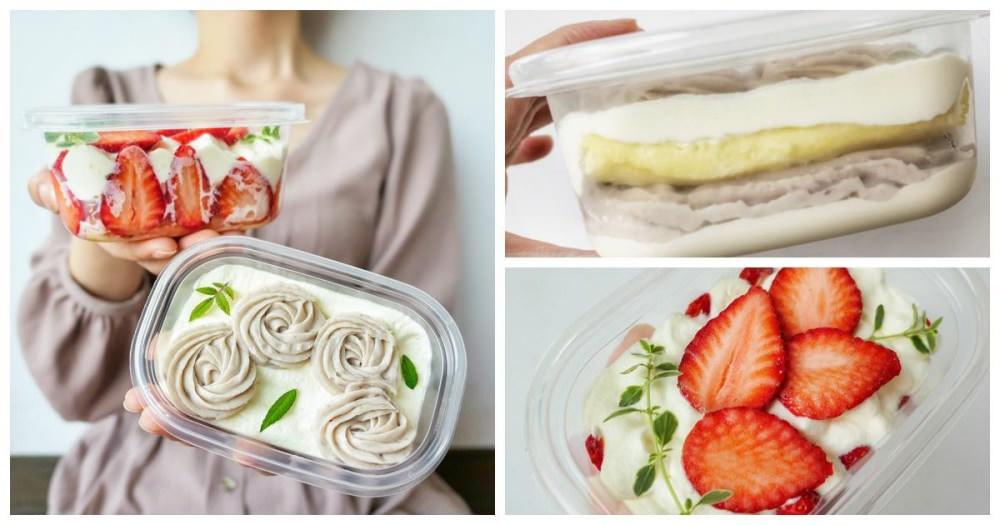 山野製菓|大雅、逢甲面交甜點 平價的草莓/芋泥珠寶盒 真材實料、好吃不負擔!