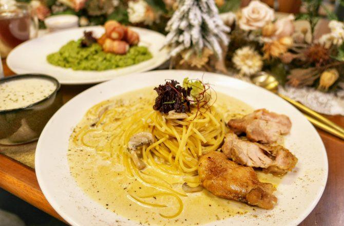 村口微光一中店|在復古歐式老宅吃義大利麵 裝潢超美 網美聚餐餐廳推薦