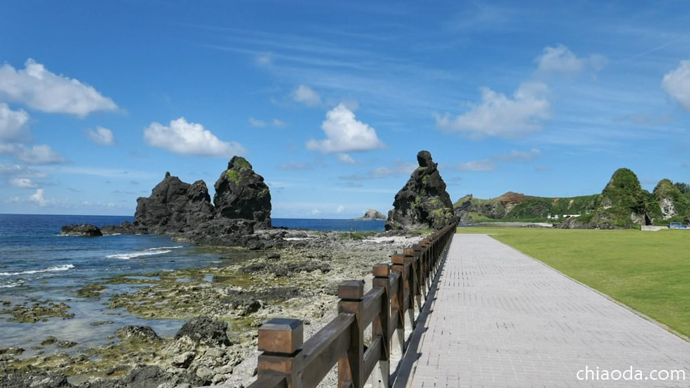 綠島人權公園 將軍岩
