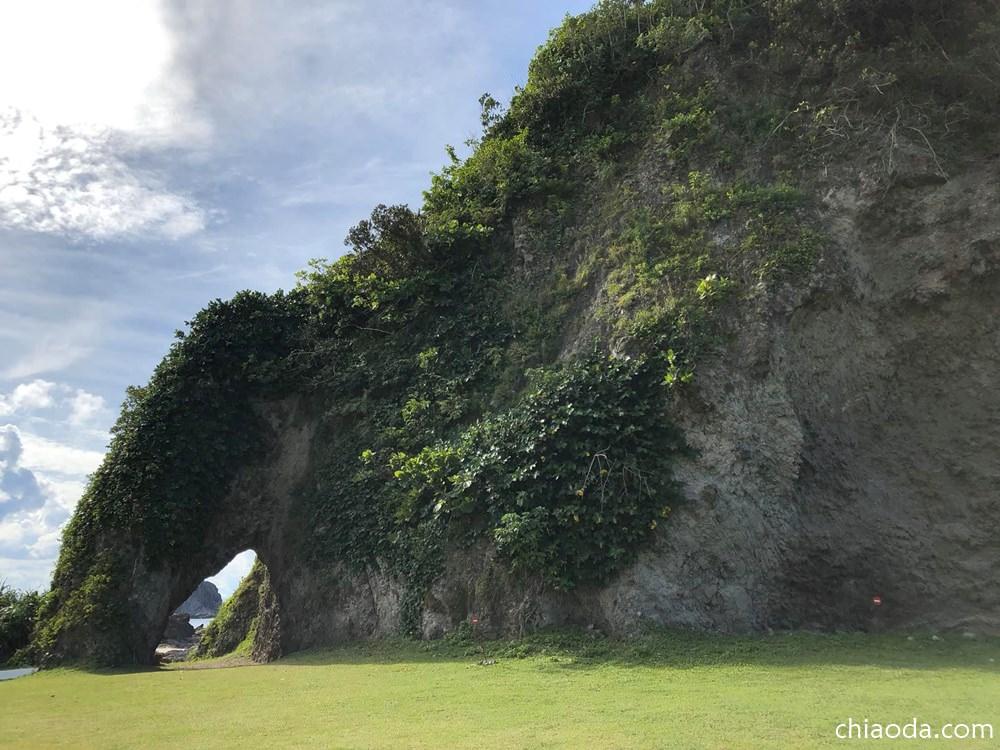 綠島 象鼻岩
