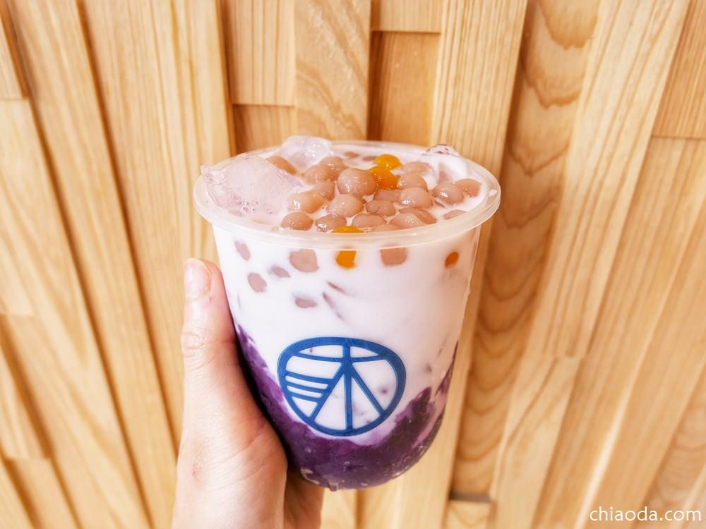 沐沐茶旅中科店 紫薯芋圓鮮奶