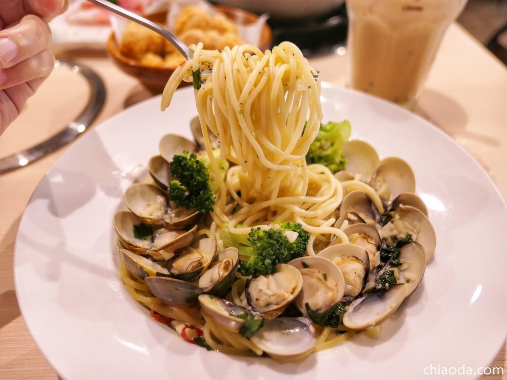 好食光溫心鍋物 清炒香蒜多蜊多汁義大利麵