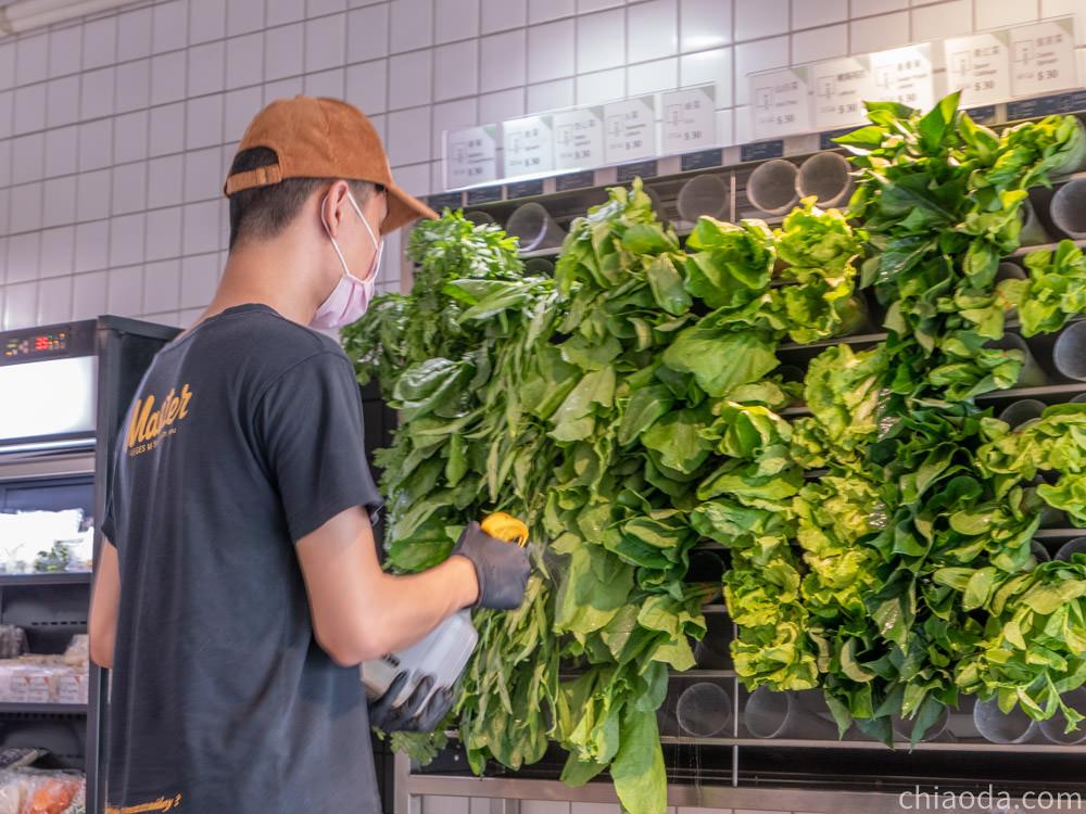饗蔬職人 蔬菜牆