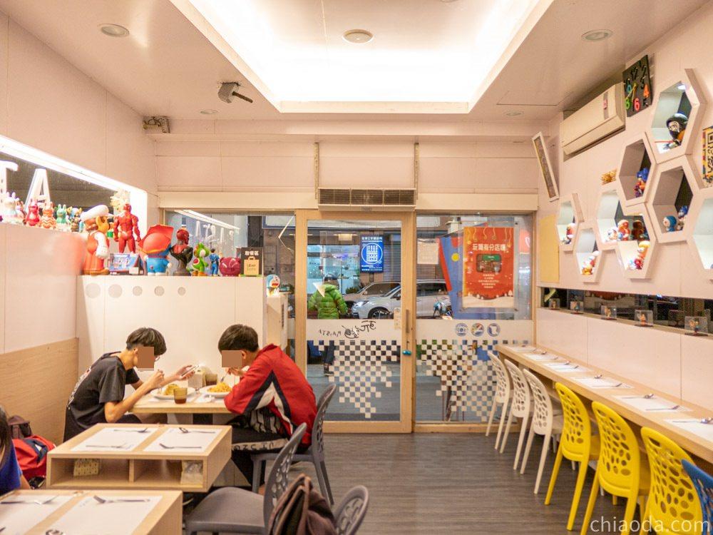 玩麵健行店 餐廳環境