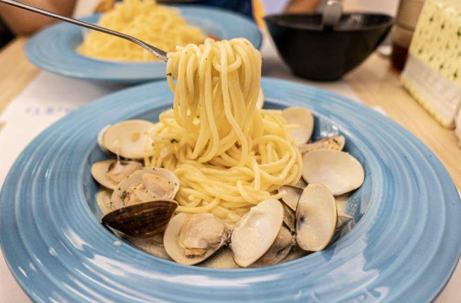 玩麵Pasta|台中科博館、興大、明道中學周邊平價餐廳推薦 義大利麵$90起 想吃義大利麵不用花大錢!