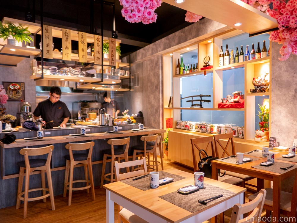 烏米うみ日式無菜單料理 餐廳環境