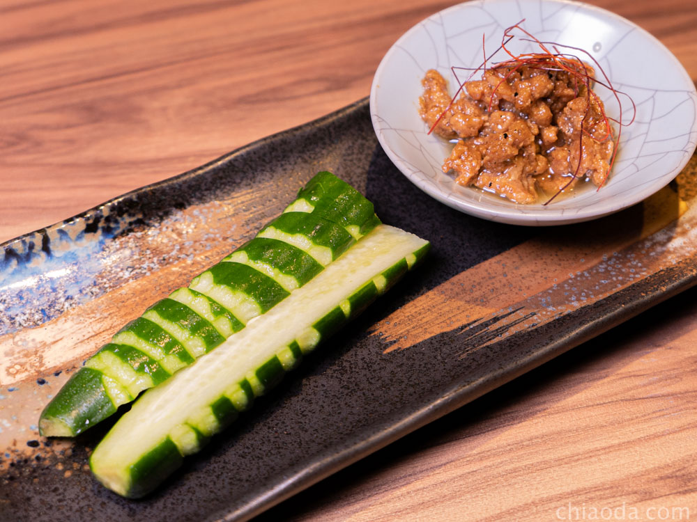 金川 肉味噌小黃瓜