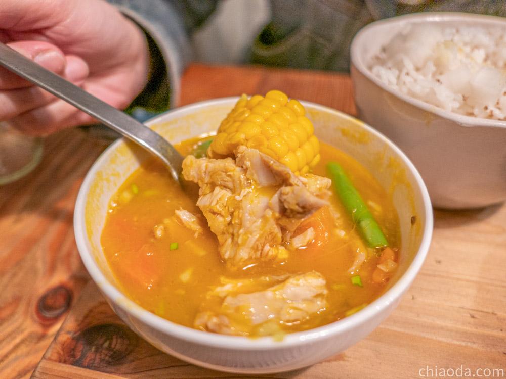 家溫度湯 味噌南瓜雞肉燉湯