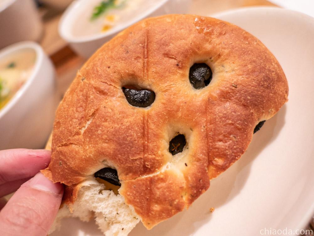 家溫度湯 佛卡夏麵包