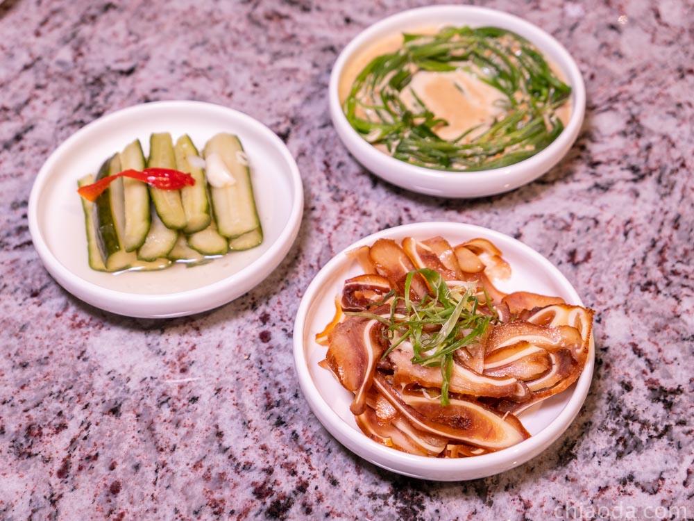 湯鶴 小菜