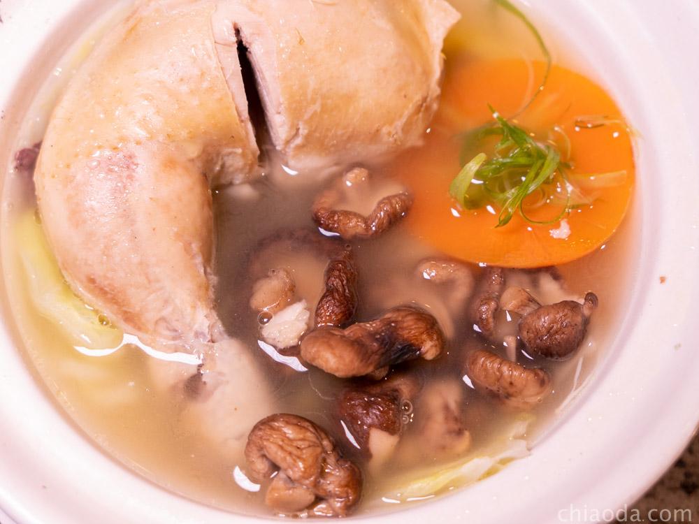 湯鶴 香菇雞湯