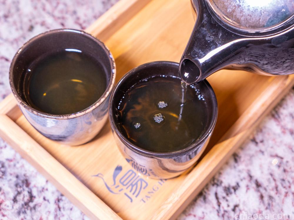 湯鶴 現泡茶
