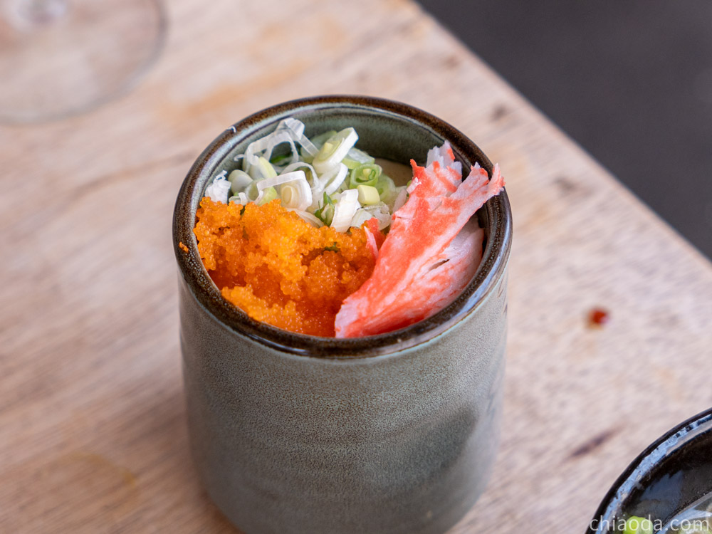 信兵衛【套餐B $120】胡麻時蔬、茶碗蒸、蛤蠣味增湯