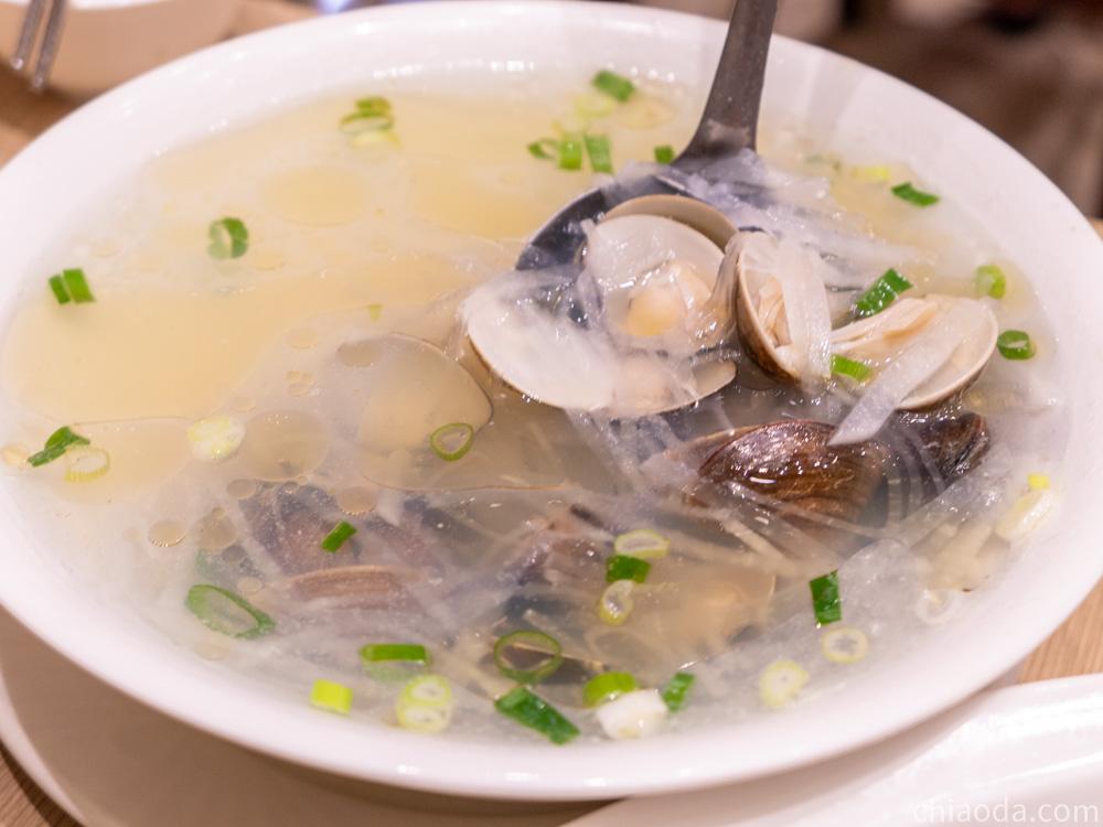 厝秘 蘿蔔絲蛤蜊湯