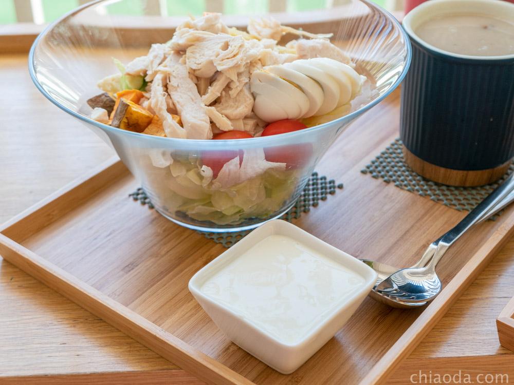 沙拉嗑 檸檬優格醬