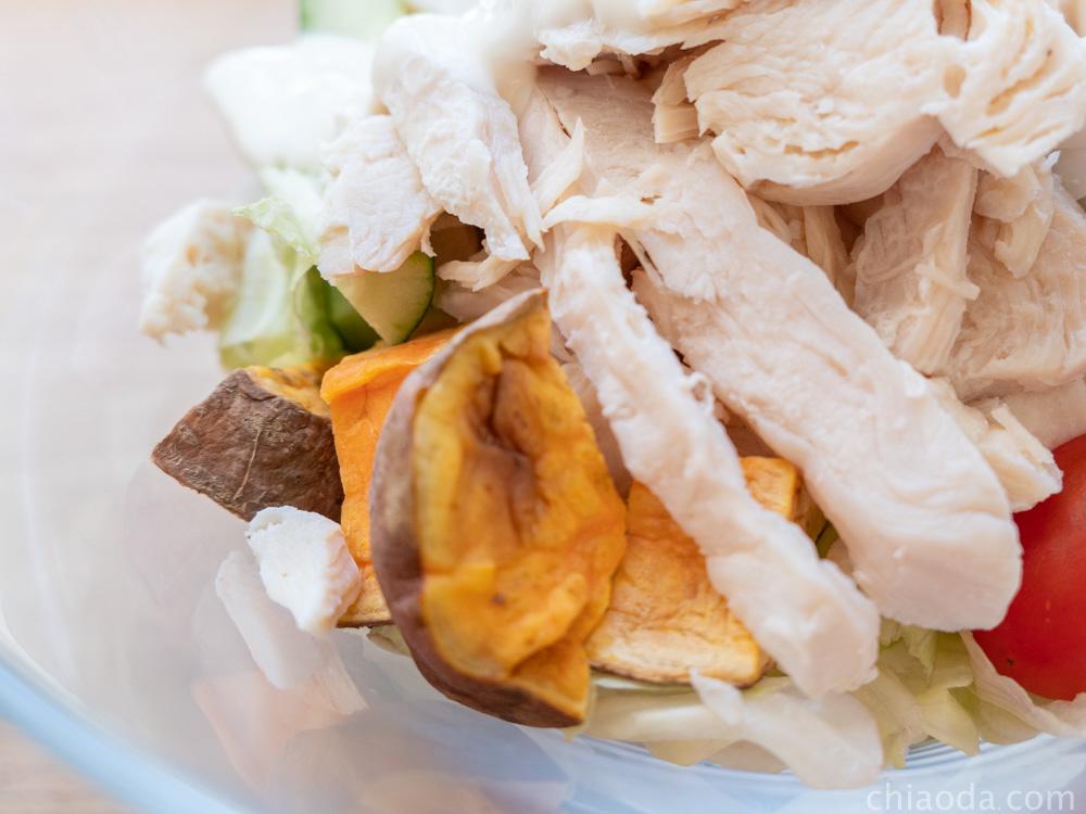 沙拉嗑 高蛋白餐