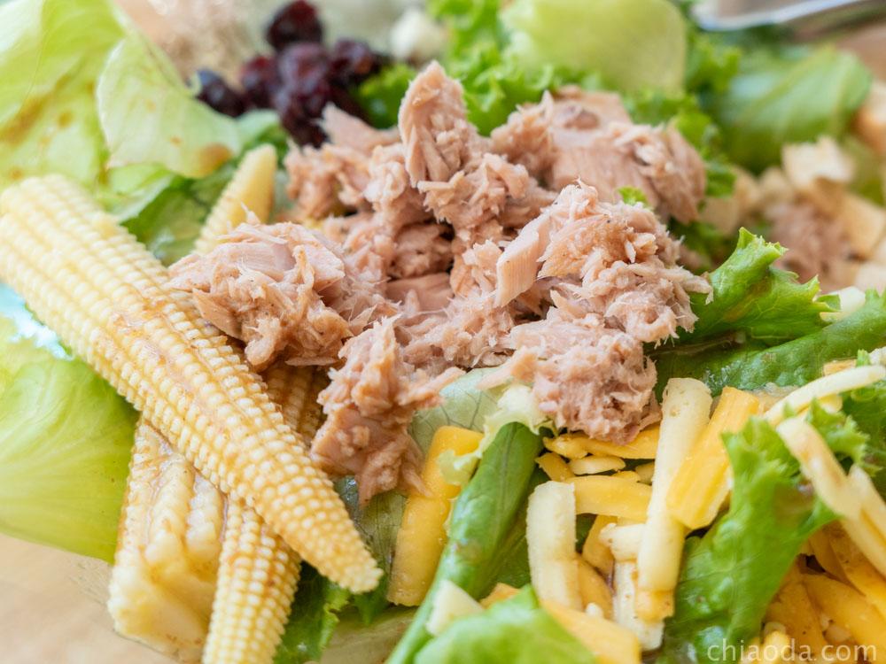 沙拉嗑 低卡鮪魚