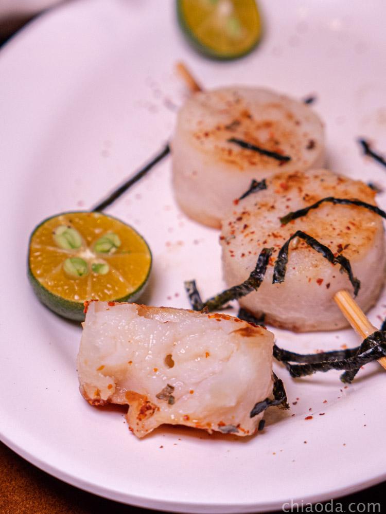 泉香平價日式料理 干貝串