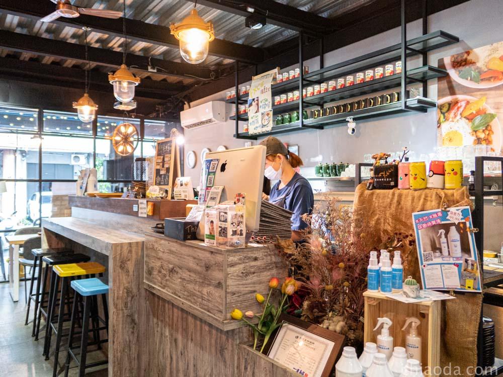復興咖啡交易所 吧台