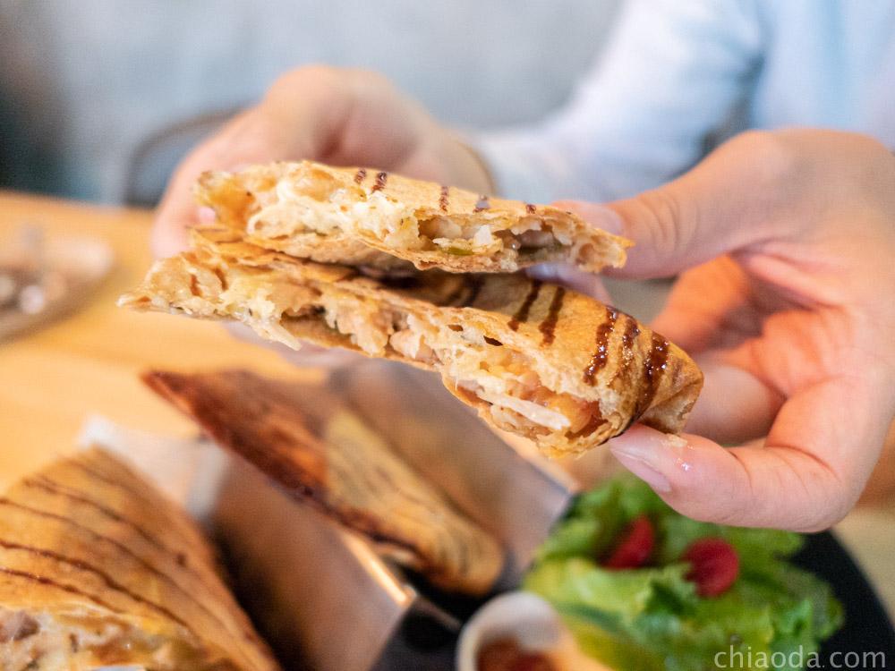 復興咖啡交易所 煙燻凱薩雞肉烤餅