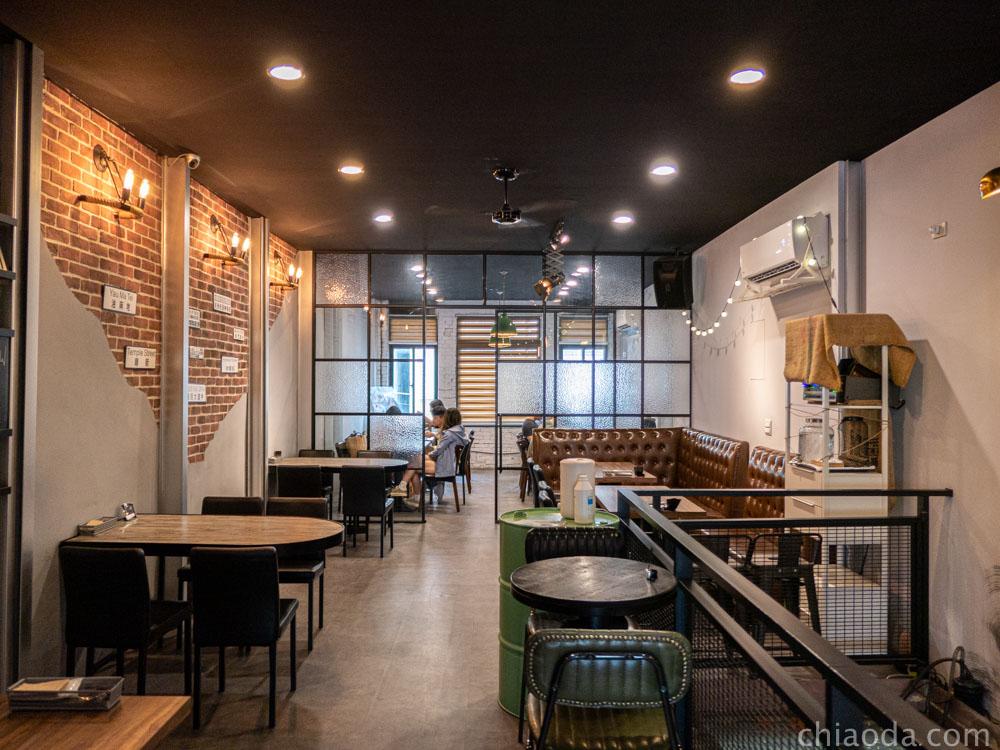 復興咖啡交易所 二樓環境