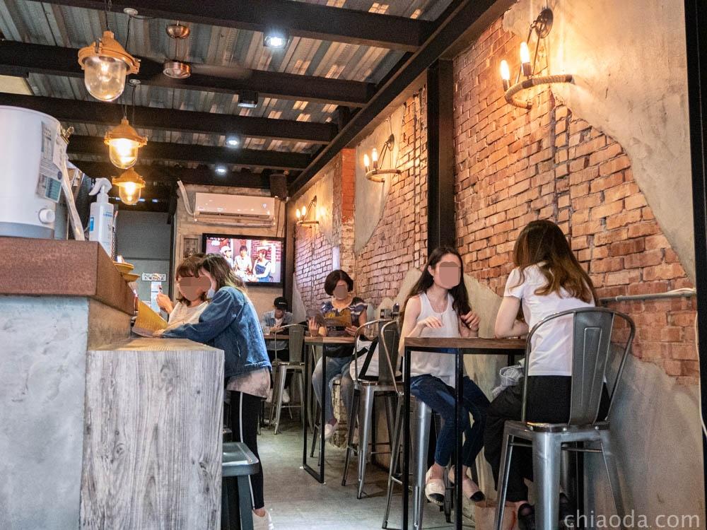 復興咖啡交易所 一樓環境