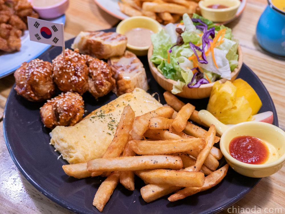 歐娜斯早午餐 來自星星歐爸韓式炸雞塊