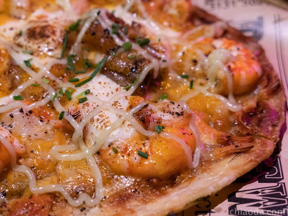 吾家可歸餐酒館 招牌干貝海鮮Pizza