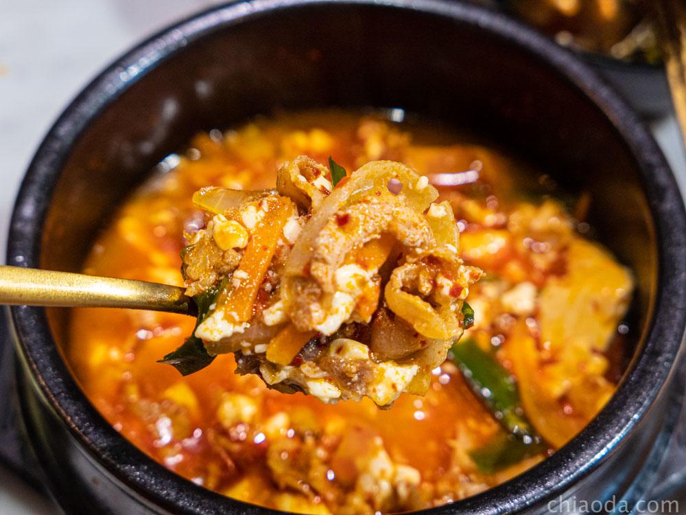 kim daddy 韓式豬肉純豆腐鍋