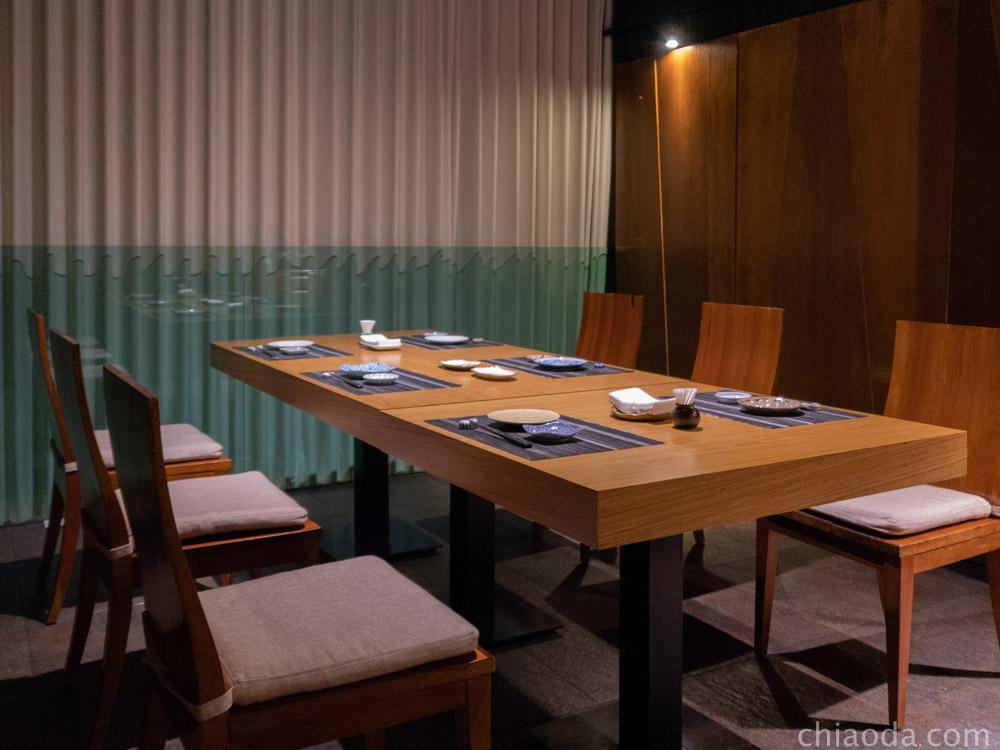 響壽司 二樓用餐空間與包廂
