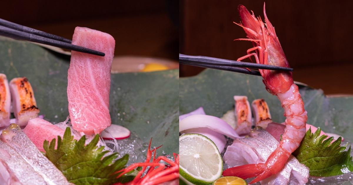 響壽司 鮪魚中腹 宜蘭葡萄蝦