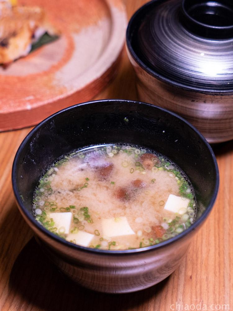 響壽司 味噌湯