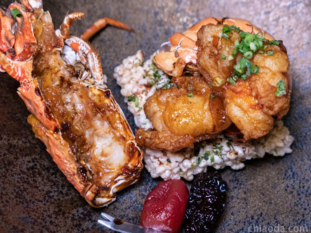 響壽司 炸龍蝦