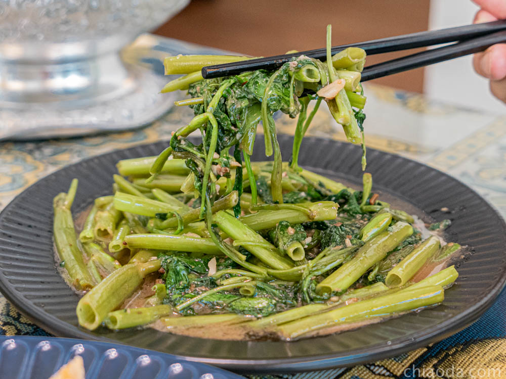 泰豪脈-蝦醬空心菜