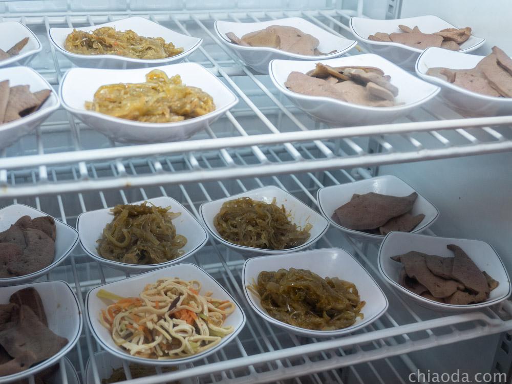 桂蘭麵 小菜