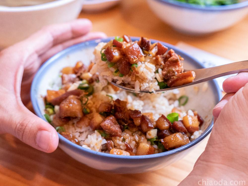 桂蘭麵 手切滷肉飯