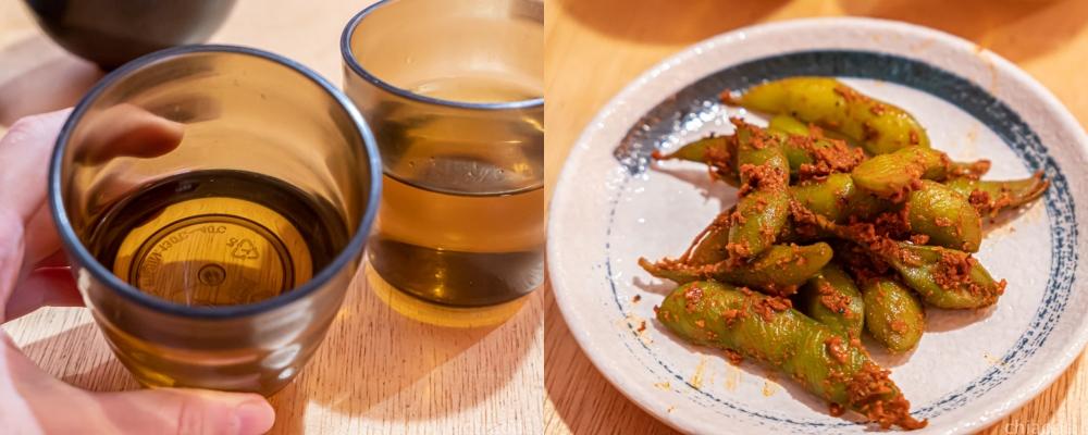 信兵衛大勇町二代目 免費續用辣毛豆及麥茶